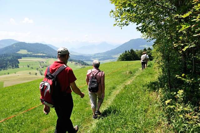 Wanderer Raten Gottschalkenberg