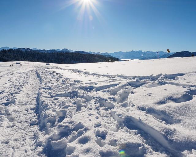 Schneeschuhroute Hochstuckli
