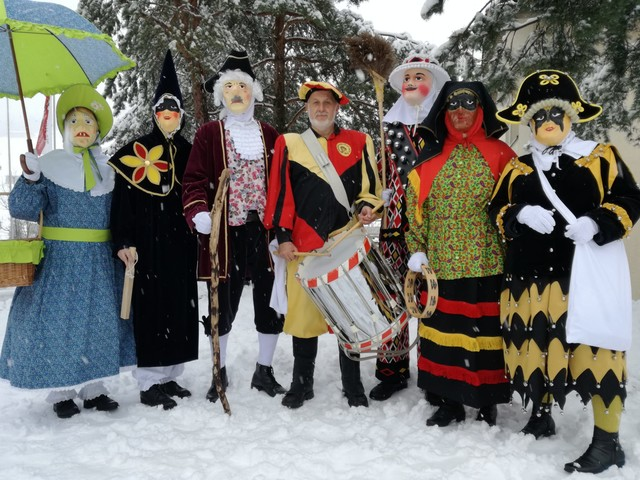 Traditionelle Fasnacht Sattel