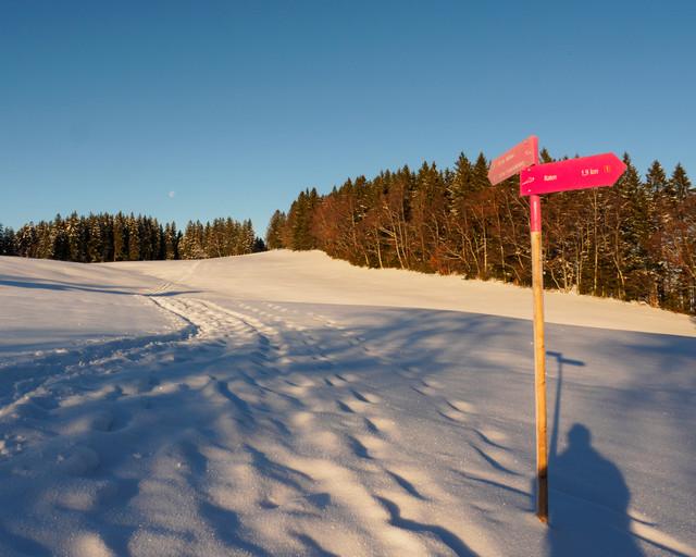 Schneeschuhtour Raten
