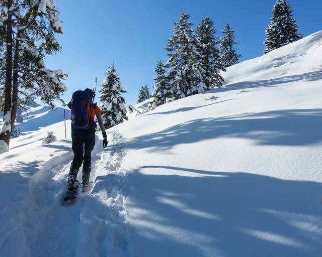 Schneeschuhtour Hochstuckli Mäderen